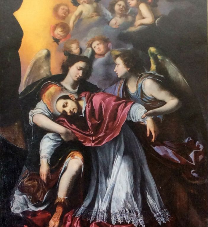 Estasi di San Carlo Borromeo