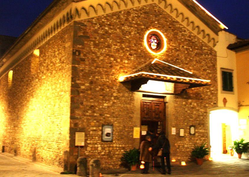 La chiesa di Santa Maria sul Prato
