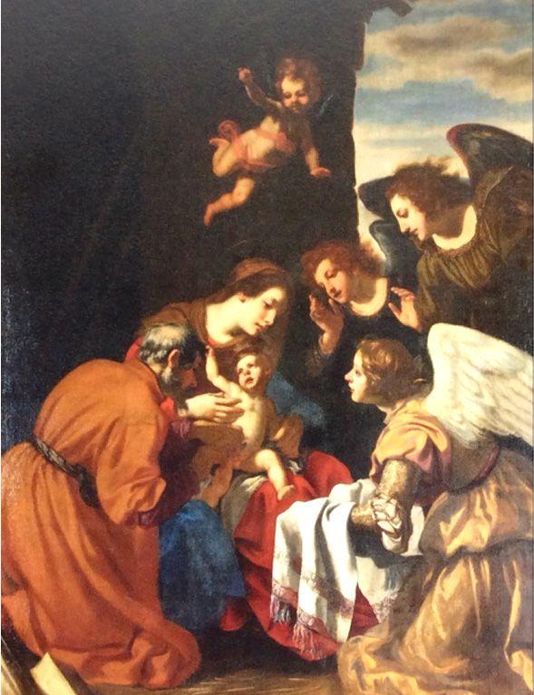 Circoncisione di Gesù di Jacopo Vignali