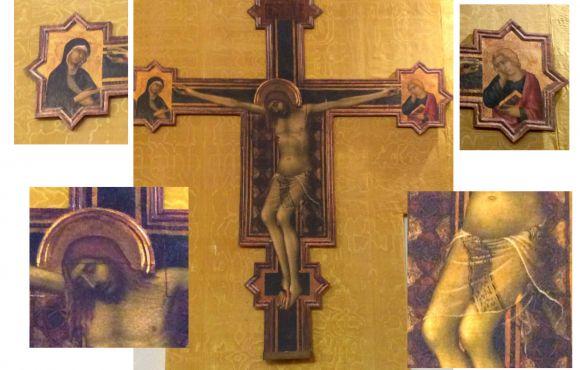 Il Crocifisso attribuito a Simone Martini