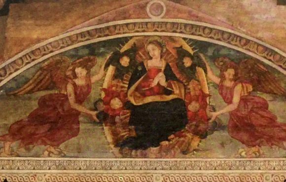 Lunetta della Madonna in Gloria