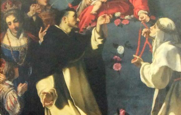 Madonna del Rosario di Jacopo Vignali